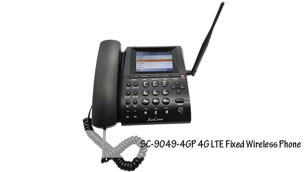 4G Fixed Wireless Phone