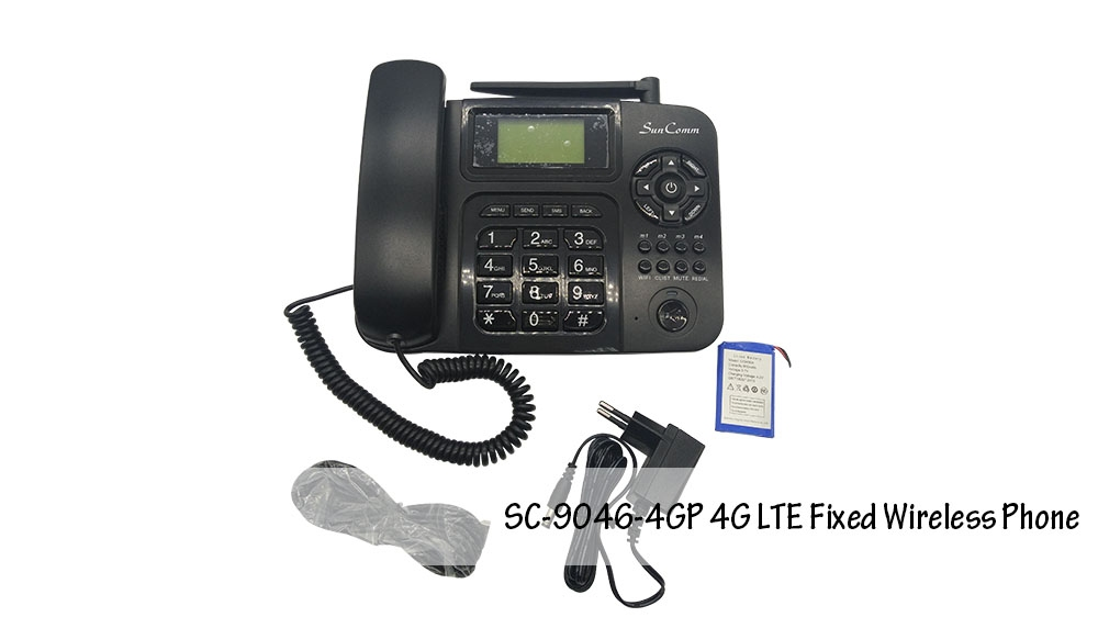 4G Fixed Wireless Phone, 4G Phone desktop