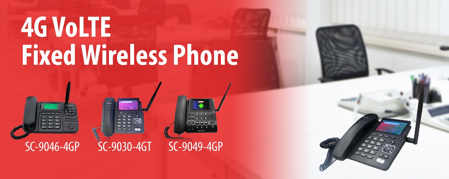 SunComm 4G VoLTE Fixed Wireless Phone