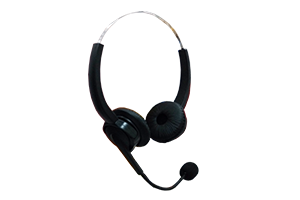 RJ-9 Headset for call center telephone, digital