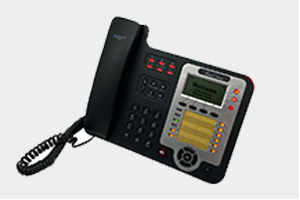 VoIP Phone with 3 SIP HD Voice, PoE, BLF