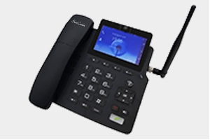Video 4G VoLTE Fixed Wireless Phone Touch Panel